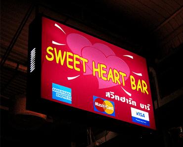 Review of sweet heart ladyboy bar in Bangkok