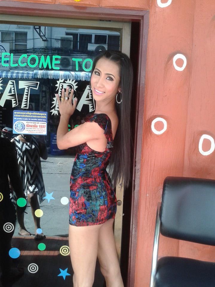 Aom from So What ladyboy bar in Pattaya