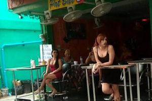 Pat 2 ladyboy bar Pattaya